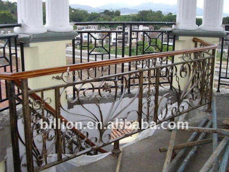 Wrought Iron Stair Railings | Iron Stair Railing - Buy Wrought Iron Stair Railing,Wrought Iron Stair ...