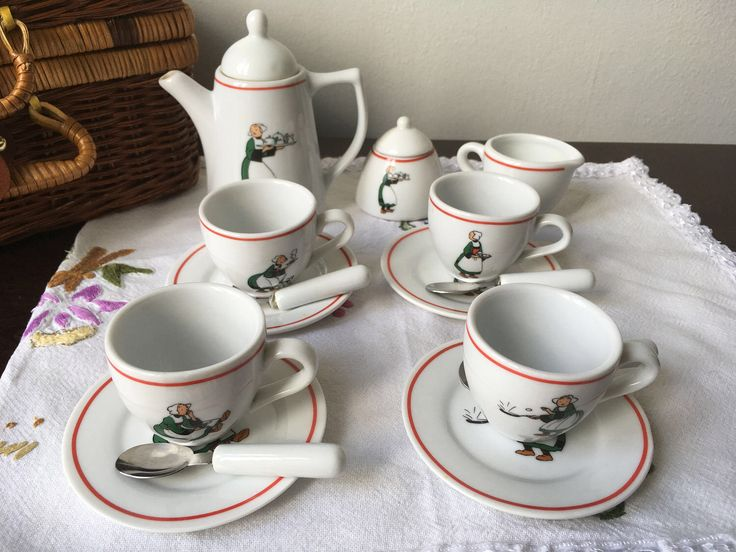 A personal favourite from my Etsy shop https://www.etsy.com/uk/listing/510182404/vintage-vilac-childrens-tea-set-in