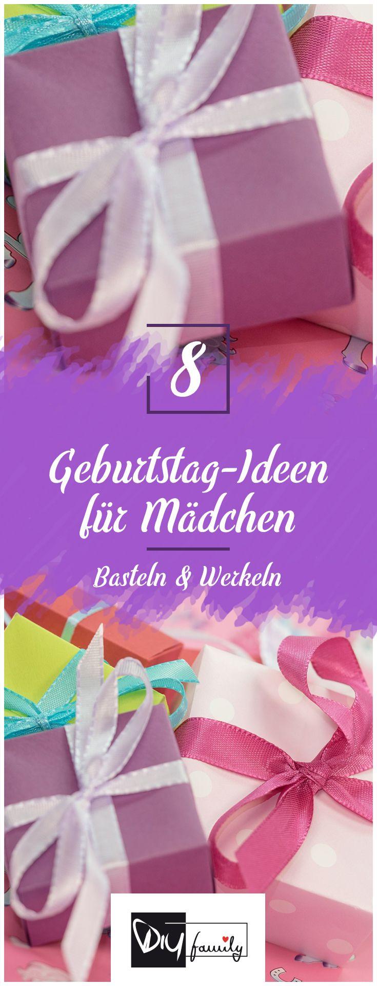Kindergeburtstag für Mädchen - Die 8 schönsten Ideen  #girl, #birthday, #fun, #party, #present