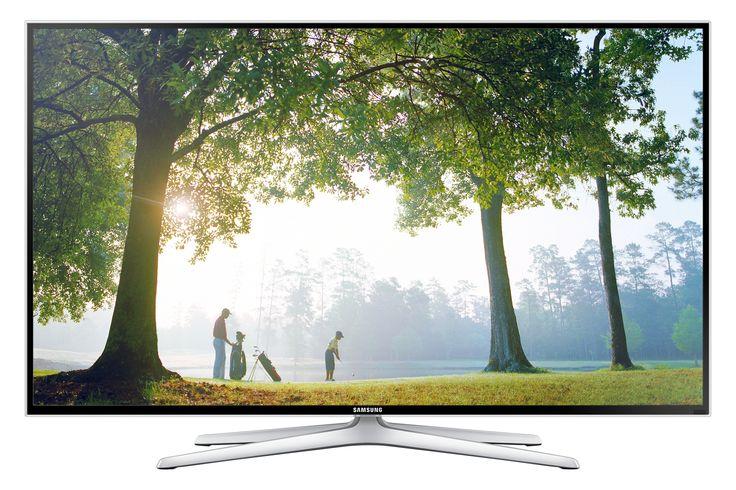 """Samsung UE48H6400AK 48"""" Full HD 3D compatibility Smart TV Wi-Fi Black"""