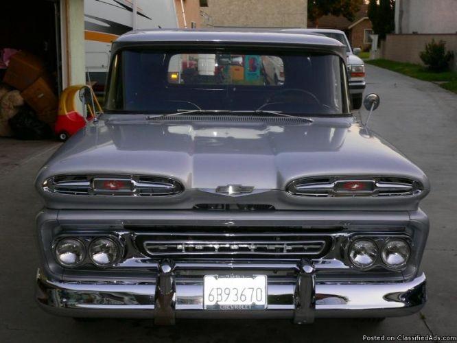b>1961 chevy truck</b> (apache) - Price: 8000 in Norwalk, California
