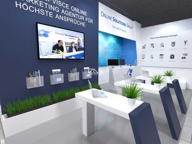 Дизайн интерьера стенда для выставки - EDS