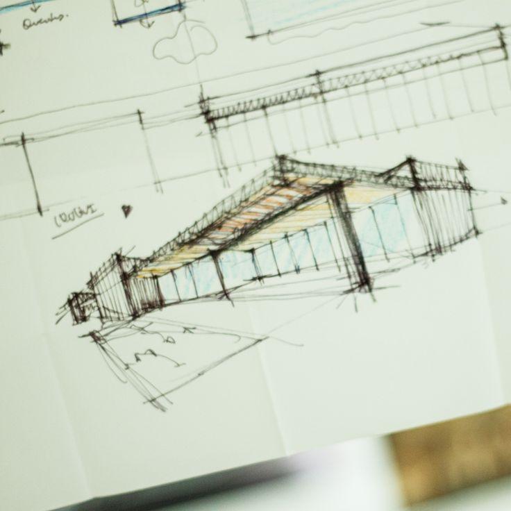 Fragmentos de Arquitectura | Arquitetura | Architecture | Atelier | Design | Project | Drawing | Sketch