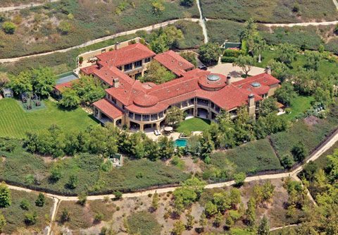 Arnold Schwarzenegger's Brentwood Villa