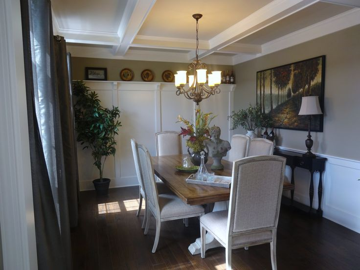 Paint Color in Dining Room Kings Canyon Grey Glidden