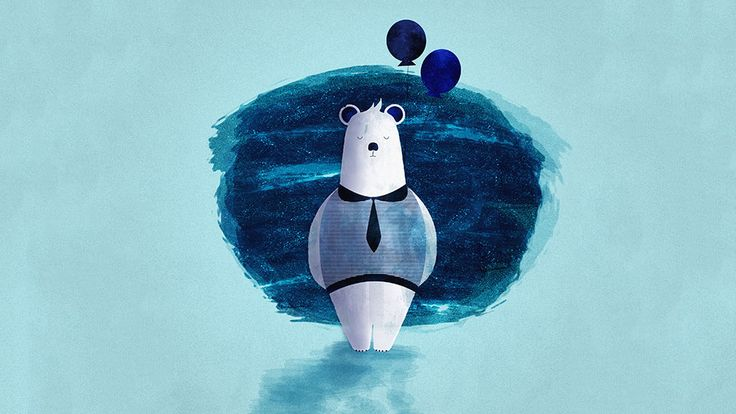 Illustration – Jan Behne  #illustration #character #bear