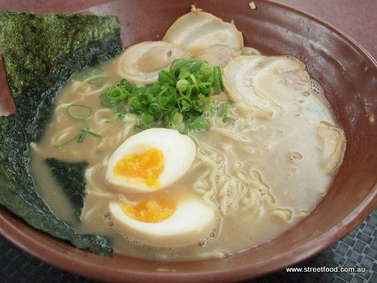 Gumshara Japanese Ramen ~ Hakata Ramen - Eating World - Chinatown