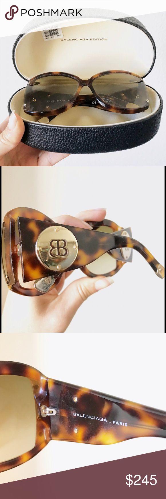 Balenciaga Sunglasses Amazing, gently worn, Balenciaga sunglasses no longer sold in stores. Originally purchased from Nordstrom. Balenciaga Accessories Sunglasses