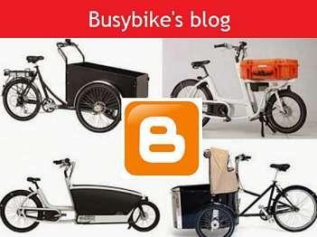 blog voor bakfietsen en transportfietsen van Busybike Nijmegen
