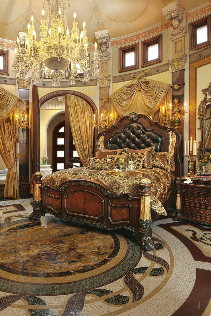 224 best Baroque, Victorian, and Ornate Style Beds images on Pinterest