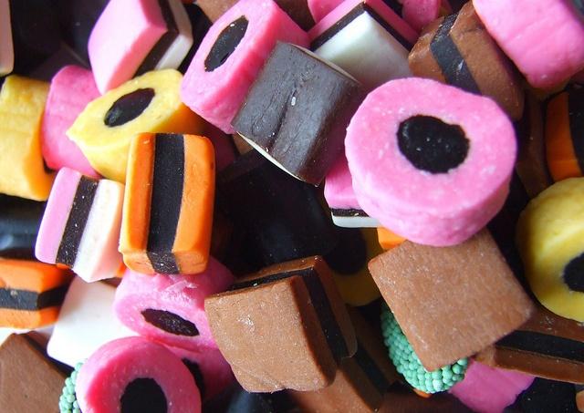Malaco Lagermann Lakridskonfekt in super macro by perryolf, via Flickr