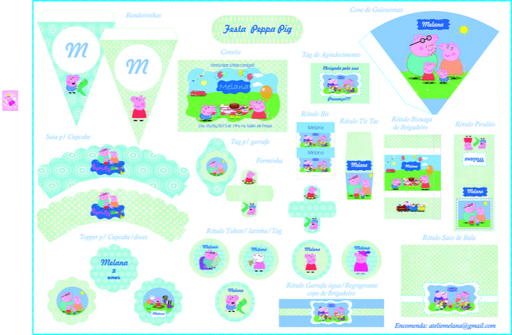 O que é Arquivo Digital? <br>É um kit dos itens que você escolher, que vai personalizado para seu filho (a), por email, em arquivo PDF. <br>Você terá ´que imprimir, recortar e decorar os itens para sua festa. <br> <br>Quantidade de itens : <br>Por esse preço, você pode escolher 12 itens no mínimo ou acrescentar. <br>A cada novo item, o preço será de R$2,00. <br>As Bandeiras também podem entrar na escolha sendo que cada letra ( não contamos repetidas) , é um item do seu kit. <br>O convite e…