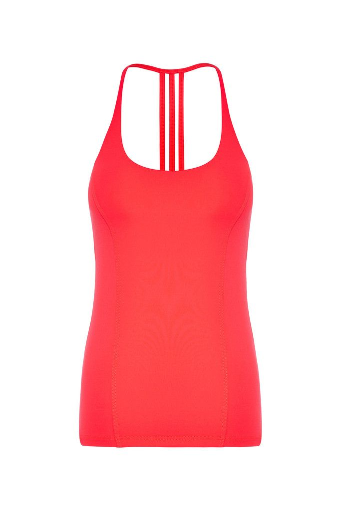 Coral Freedom Flow Sports Tank – Dharma Bums Yoga and Activewear