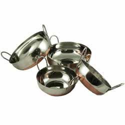 Balti Dish Set 3 - Copper Bottomed