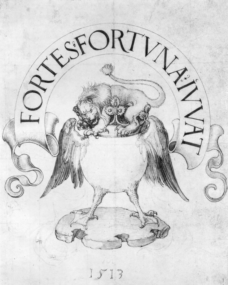"Albrecht Dürer ""FORTES FORTUNA IUVAT"""