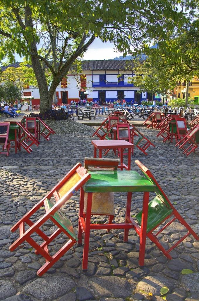 Plaza de Jardin, Antioquia