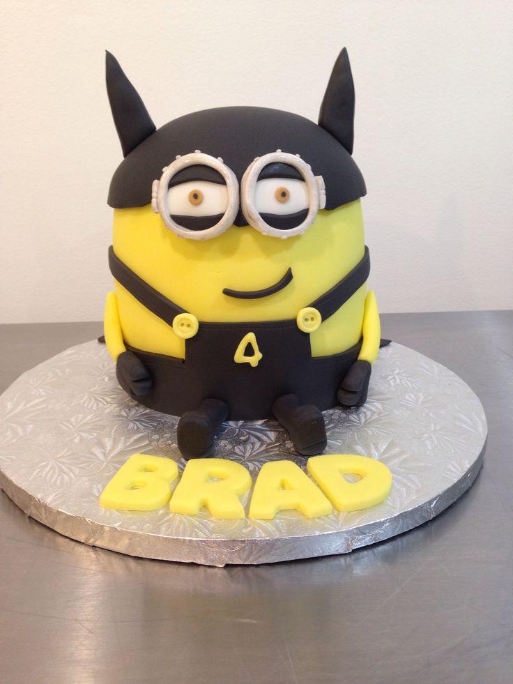 Batman Minion Cake Character Cakes Pinterest Cakes
