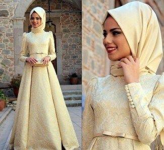 Model Baju Gamis Brokat Kombinasi Sifon Elegan Dorami Pinterest