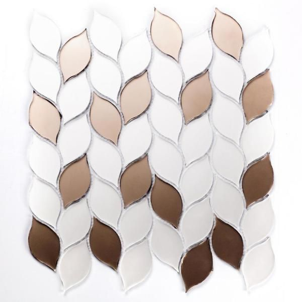 glass peel stick wall tile