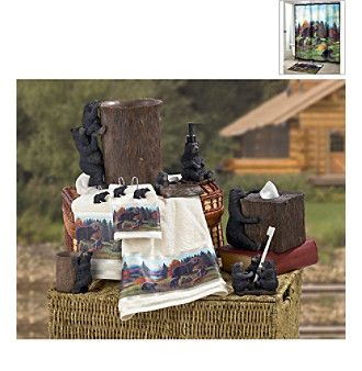 Avanti® Black Bear Lodge Bath Collection