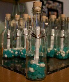 Bomboniere  idee per #segnaposti, #bomboniere o #partecipazioni per un matrimonio in tema mare