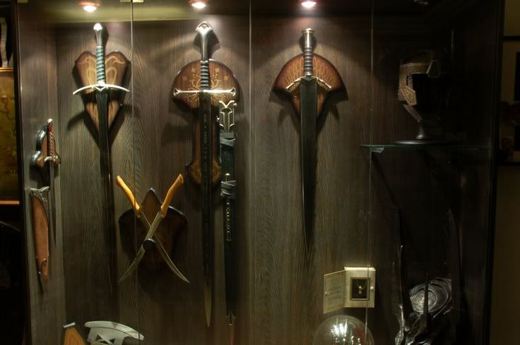 LOTR Swords Display