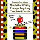 nonfiction writing prompts The creative writing prompts are separated by fiction and poetry but i suggest you read all of them since many of the creative writing prompts can be used for creative nonfiction, poetry and fiction use these creative writing prompts to help get the ideas flowing and to help develop your work.