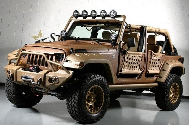 Ranch Jeep >> 2013 Canyon Ranch Kevlar Jeep Wrangler http://www.iseecars.com ... | jeep | Pinterest | Jeeps ...