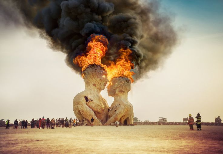 Burning Man Festival, Nevada (USA) — 20+ Of The Craziest Festivals Around The World That Bring People Together
