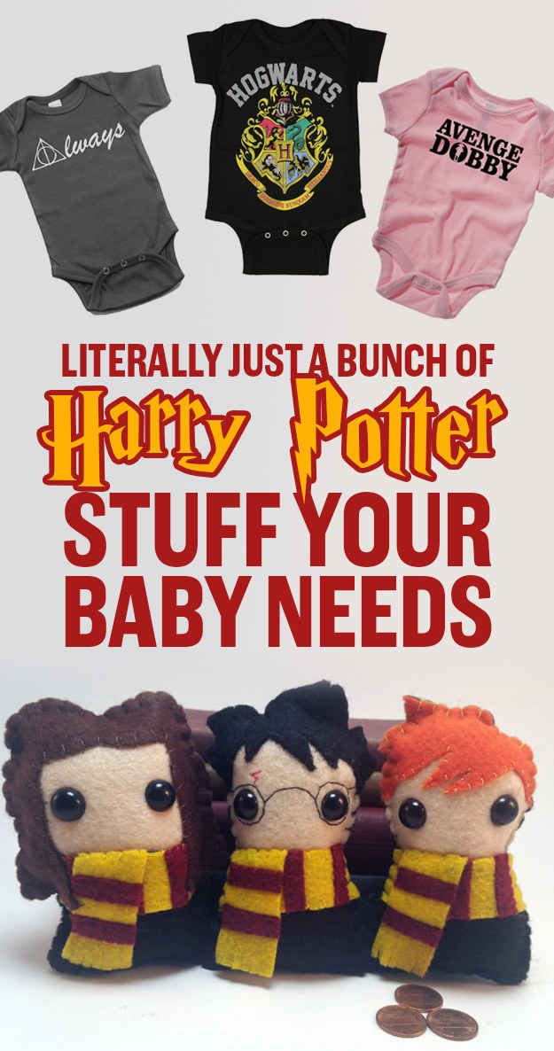 27 Adorable Harry Potter Things Your Baby Needs - stuff for my future children!