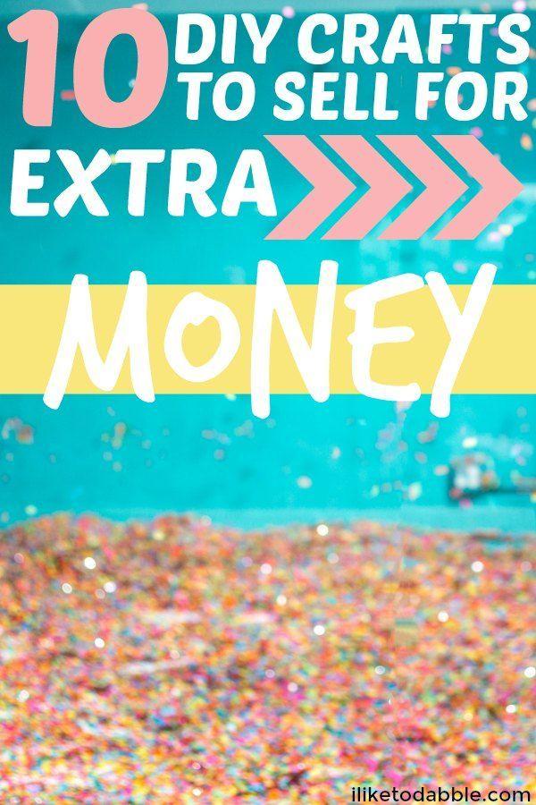 DIY Handwerk für zusätzliches Geld zu verkaufen. Kunsthandwerk online verkaufen. DIY-Projekte. Seitliches …   – Money Saving Tips