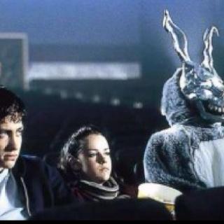 Donnie Darko (2001) // DIR: Richard Kelly // CAST: Jake Gyllenhaal, Jena Malone, Maggie Gyllenhaal, Mary McDonnell, Patrick Swayze.