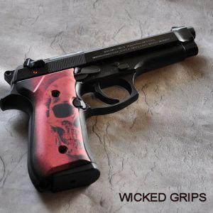 Custom Beretta 92FS grips