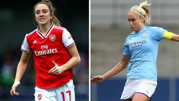 Women S Champions League Arsenal And Manchester City Eye Quarter Final Spots In 2020 Champions League Womens Soccer Champions League Live