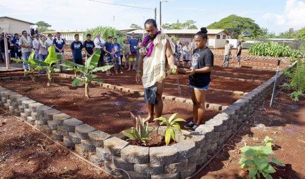 Itching to plant: Waimea blesses Aloha I Ka Aina garden   Hawaii Tribune-Herald
