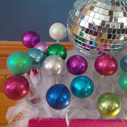 Disco Party Cake Pops
