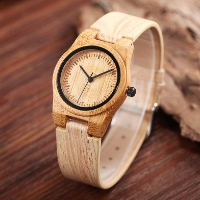 classic mini wooden watch - woodary