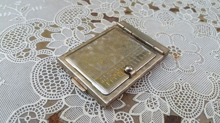 Vintage Pocket Rolodex Address Finder Mid Century Aluminum by GladStoneatHome on Etsy