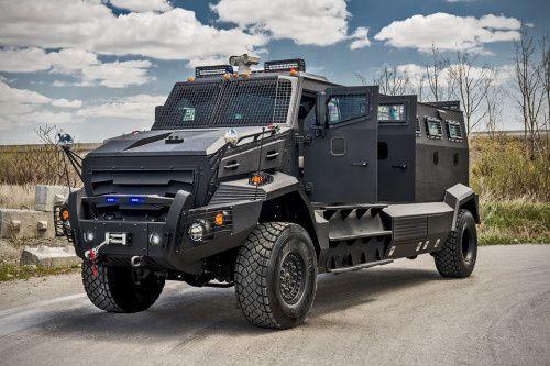 Canada made a vehicle pick up the bad guys…INKAS Huron APC (20 Photos)
