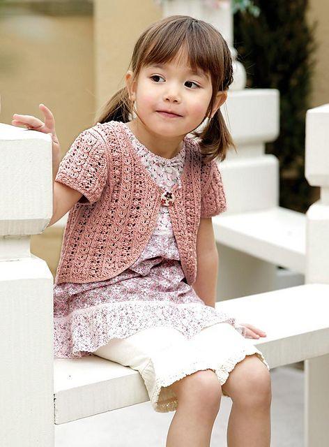 Free Bolero Knitting Pattern For Child : 25+ best ideas about Bolero pattern on Pinterest Bolero jacket, Lace jacket...