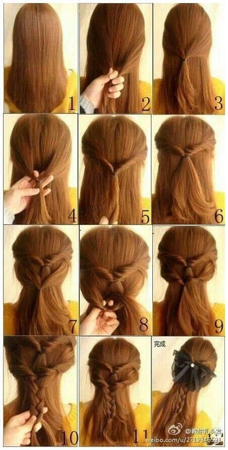 Awe Inspiring 1000 Images About Simple Fast Hairstyles On Pinterest Simple Hairstyles For Women Draintrainus