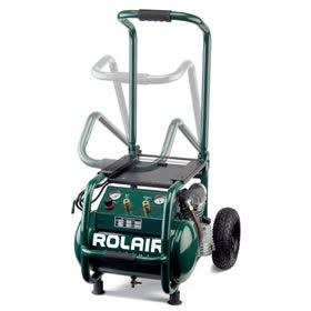 Rolair VT25BIG ROLAIR 2.5-HP 5.3-Gallon (Direct Drive) Cast-Iron Air Compressor at Air Compressors Direct includes free shipping, a factory-direct discount and a tax-free guarantee.