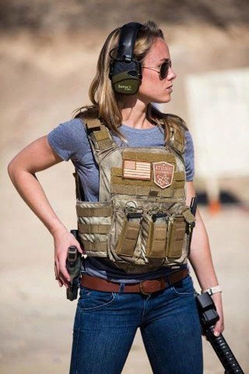 Tactical gear a must...