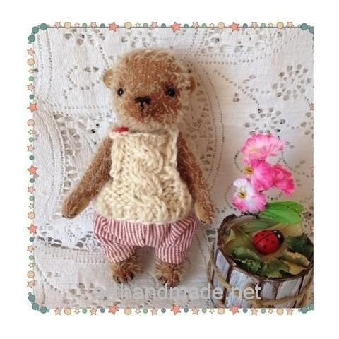 Teddy bear Lucas. Author - Svetlana Mikhailenko - http://arthandmade.net/mihailenko.svetlana Teddy, bear, teddy bear, toy, collectible toy, gift, original gift, teddy artist, handmade, craft, тедди, мишка, мишка тедди, игрушка, коллекционная игрушка, подарок, оригинальный подарок, художник, ручная работа