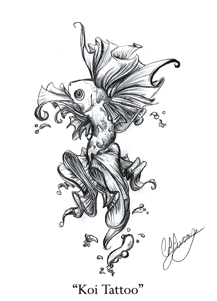 Koi fish tattoo beautiful ink pinterest for Koi fish tattoo designs