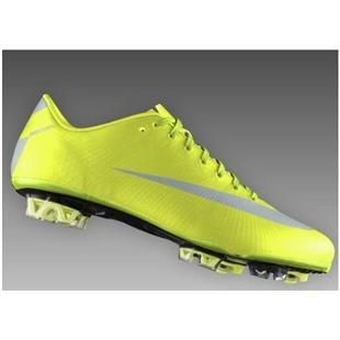 Electricity Silver Fashion SoccerFootball Cleats   Nike Mercurial Vapor SuperFly III Elite FG Safari 2011