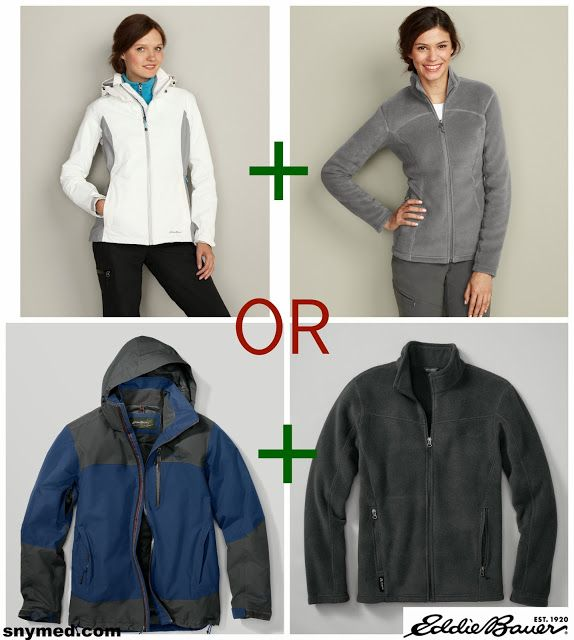 WIN @Eddie Bauer Snowline Shell Jacket & Quest 200 Jacket (for men or women) from the SnyMed.com contest!  Enter: http://www.snymed.com/2013/11/holiday-2013-begins-with-eddie-bauer.html