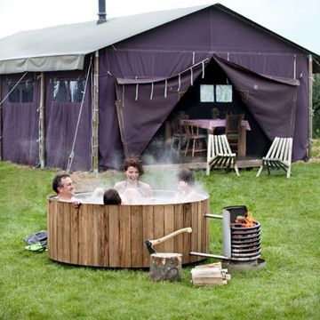 Eco hot tub , yes please.