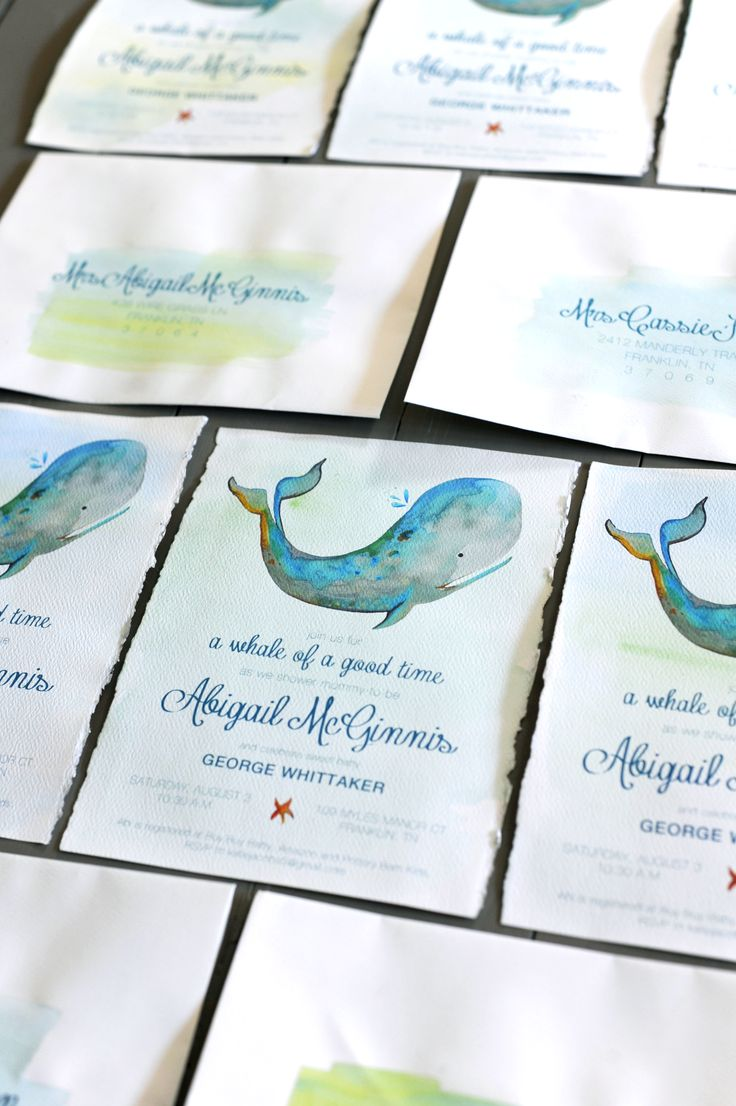 52 best whale baby shower images on pinterest whale baby showers watercolor whale baby shower invitation on stylingmyeveryday filmwisefo Gallery