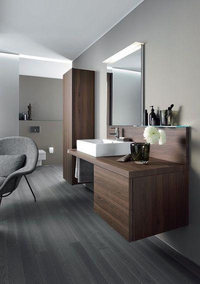 La salle de bains en bois design : 5 photos - CôtéMaison.fr